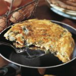 Zucchini Frittata pic supplied by the Dieticians of Canada