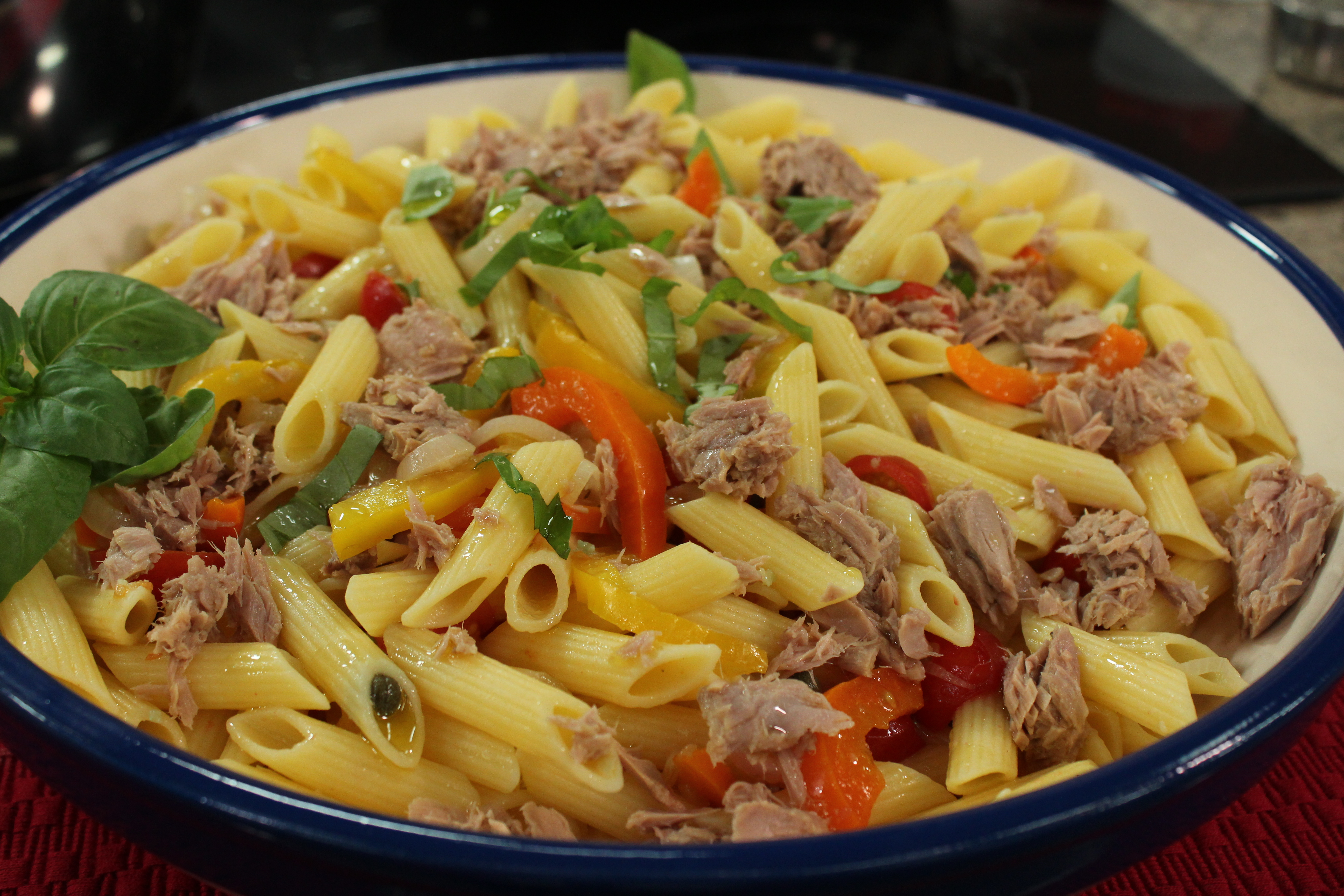pasta bake pasta with tuna arugula and hot pepper arugula tuna pasta ...