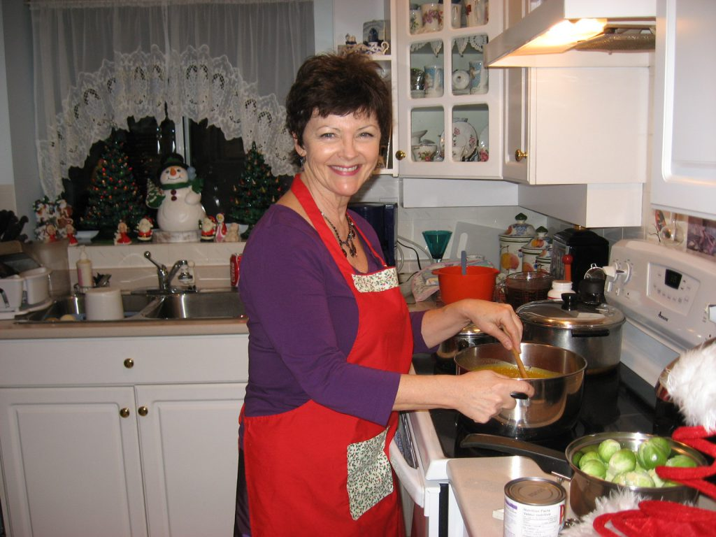 Whenever I go home to Vancouver for Christmas you can find me in the kitchen making the Big Feast.