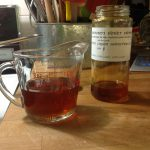 1/2 cup liquid local honey