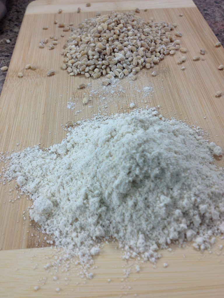 From the top: Barley Barley flour