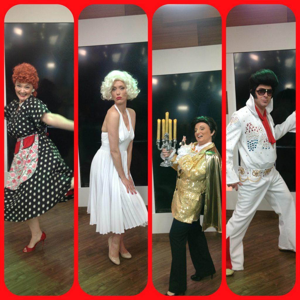 Four guest Divas!