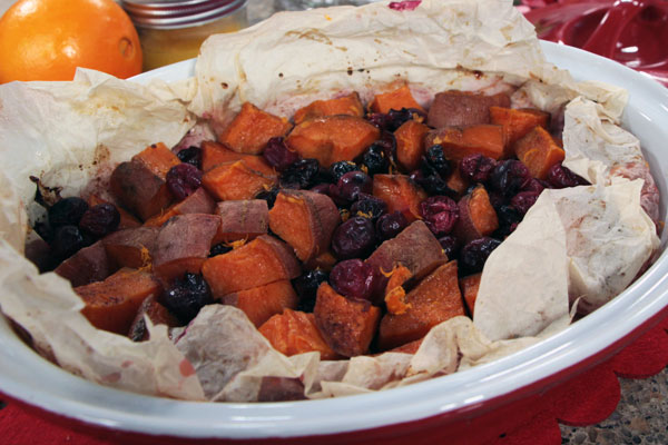 Roasted Sweet Potatoes picture by Suzanne Gardner