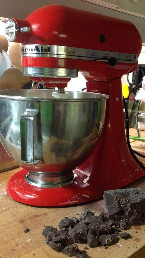 I am a trained professional - dont be using a mixer unless you know what you are doing....nothing worse than tough shortbread.