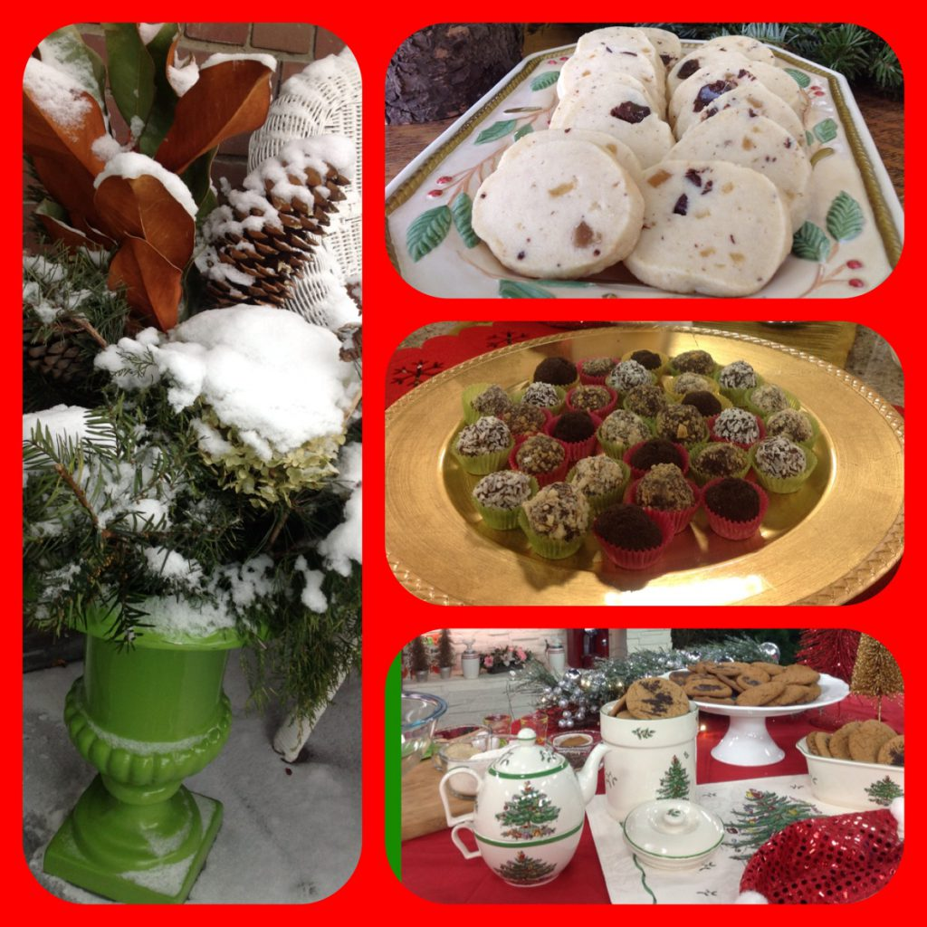 Ginger Chocolate Shortbread, Truffles, and Gingersnaps - our family foods at Christmas