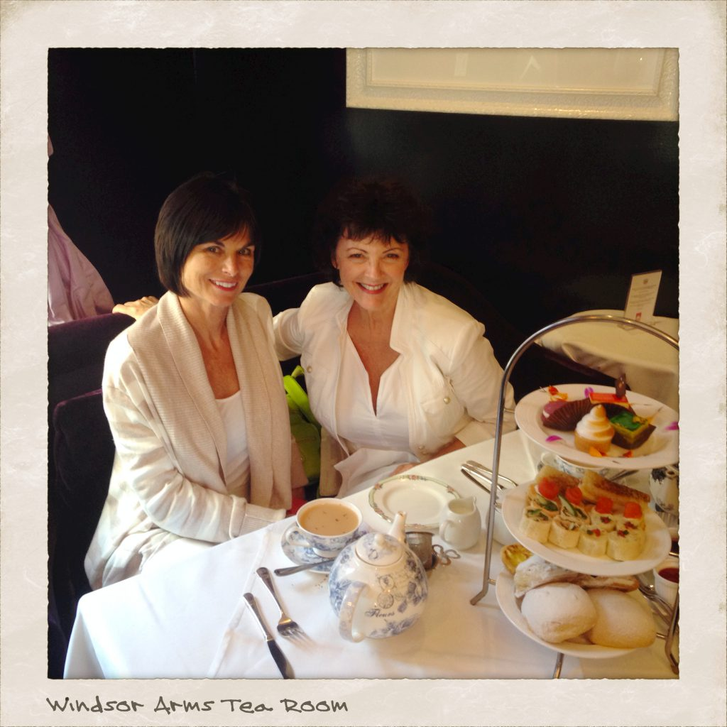 Tea for Two at the Windsor Arms