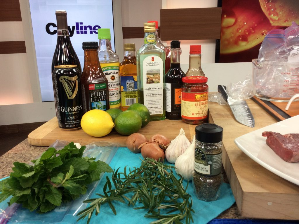 Every great marinade contains variations of three key ingredients