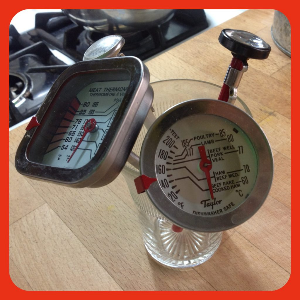 What can I say, i have a lot of meat thermometers!