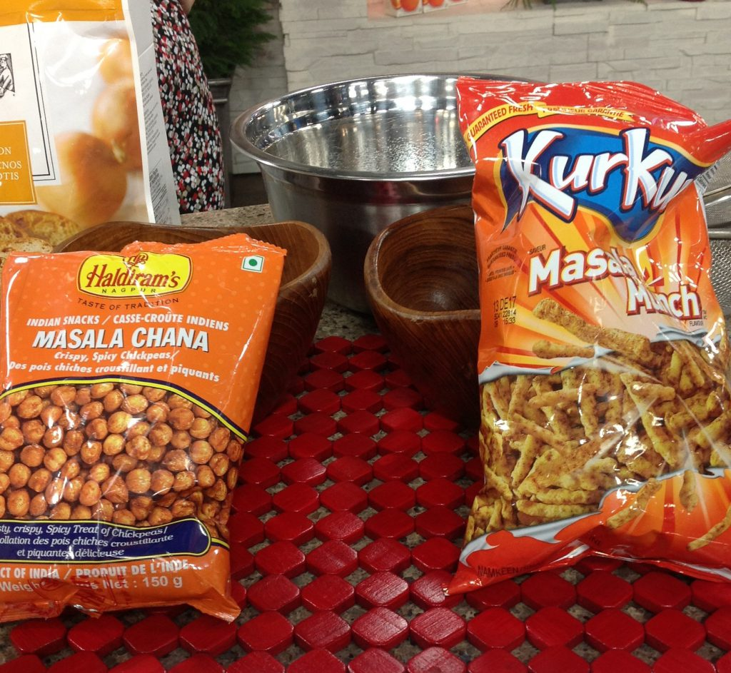 South Asian snacks